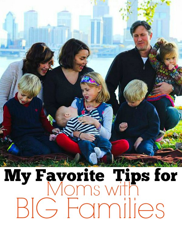 tips for moms with big families