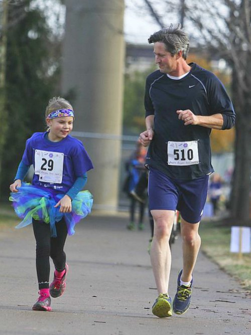 Running with your kids #happynewme