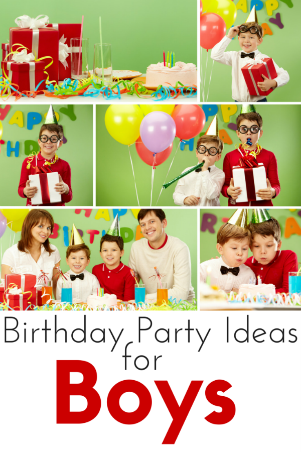 Birthday Party Ideas for Boys The Kennedy Adventures