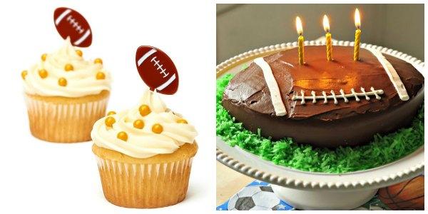 football party cake ideas