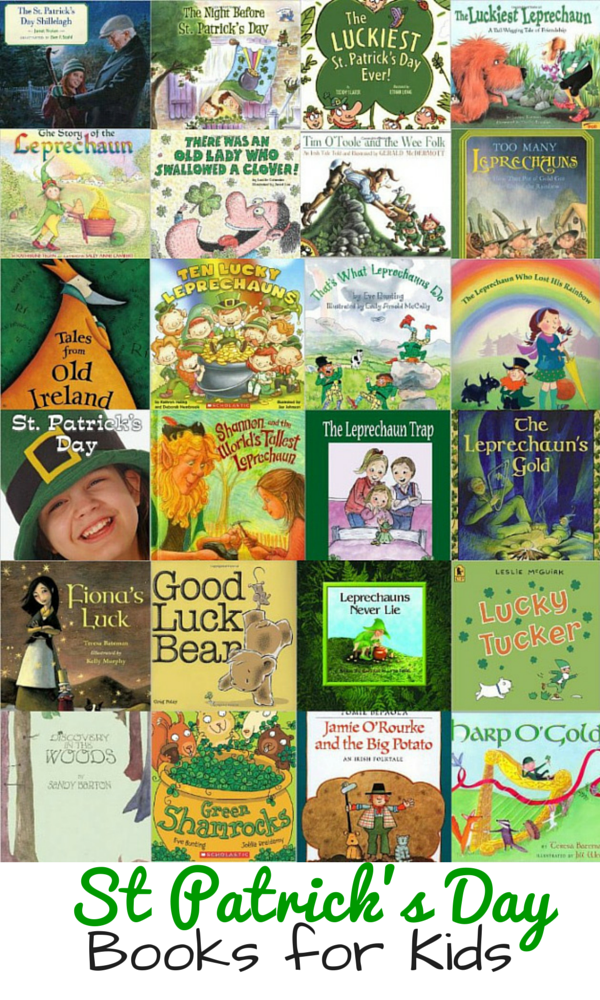 Our Favorite St Patrick's Day Books for Preschool Children