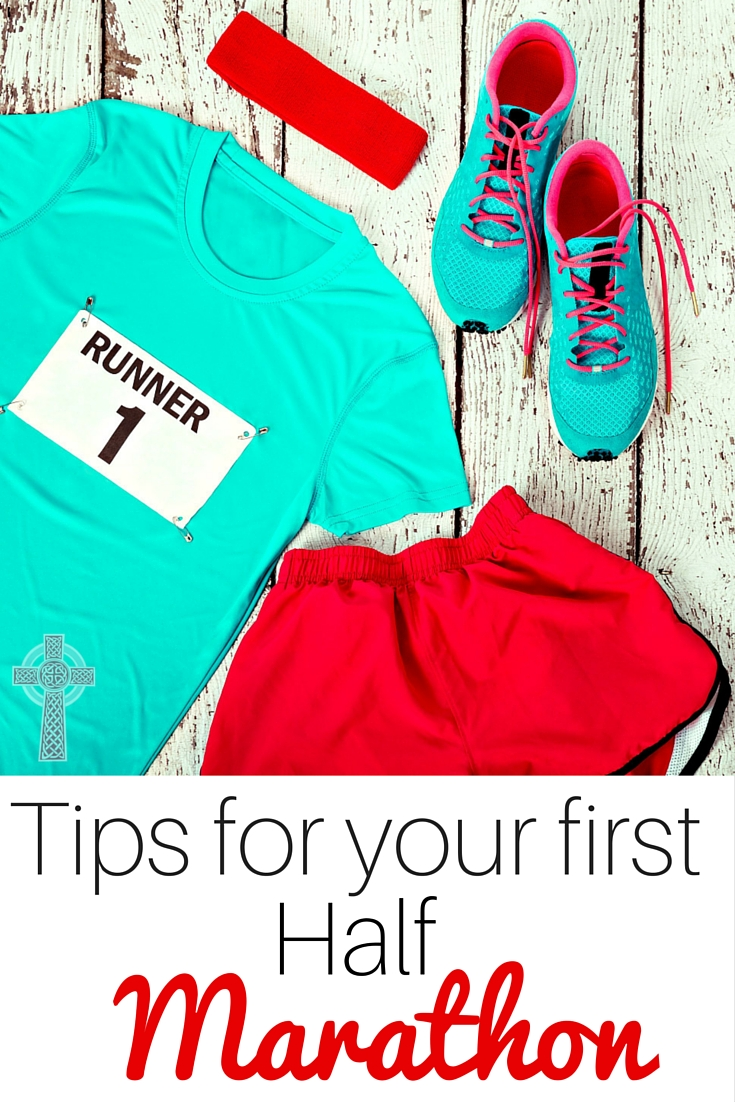 How to Run Your First Half Marathon {Even with Lots of Little Children at Home}