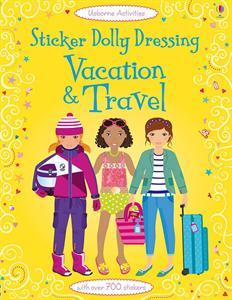 sticker dolly travel