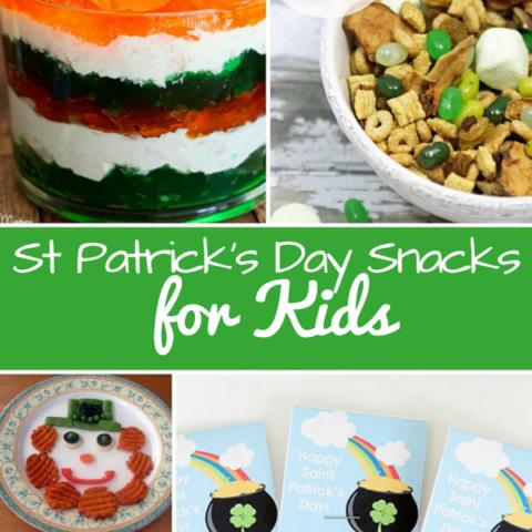 St Patrick's Day Snacks for Kids