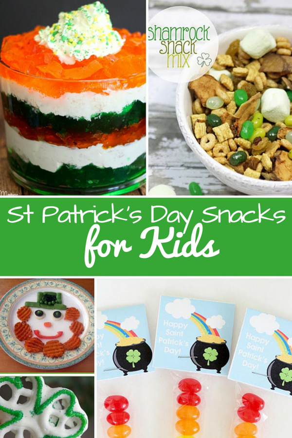 St Patrick's Day Snacks for Kids