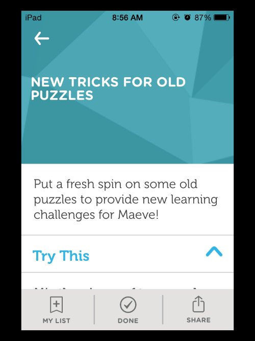 learner mosaic companion parenting app