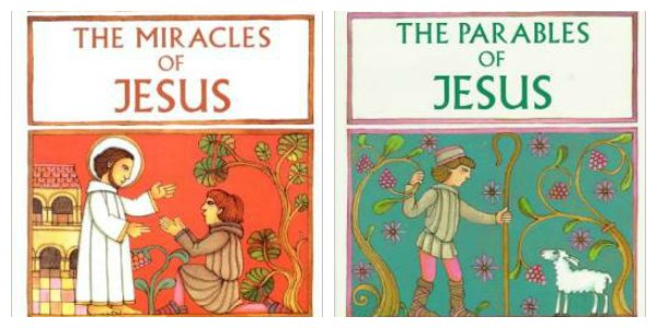 Catholic picture books Jesus
