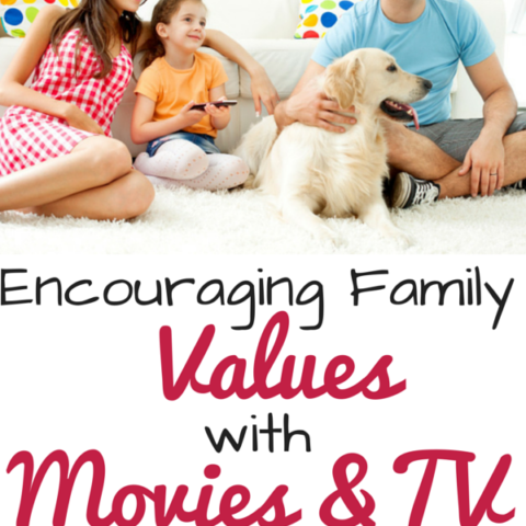 Encourage strong family values with these movies and television shows -- discuss honesty, courage, perserverance, forgiveness and more!