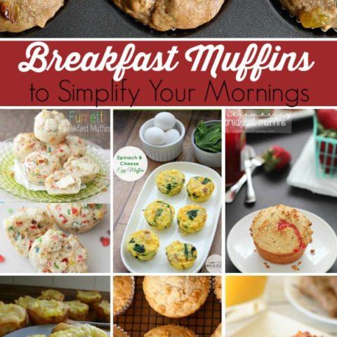 breakfast muffin recipes for easier mornings