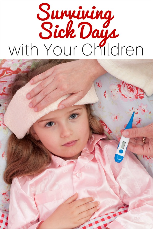 managing sick days with kids