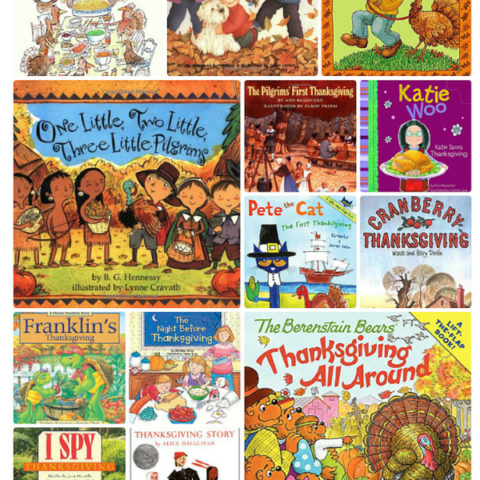 Thanksgiving Books for Children