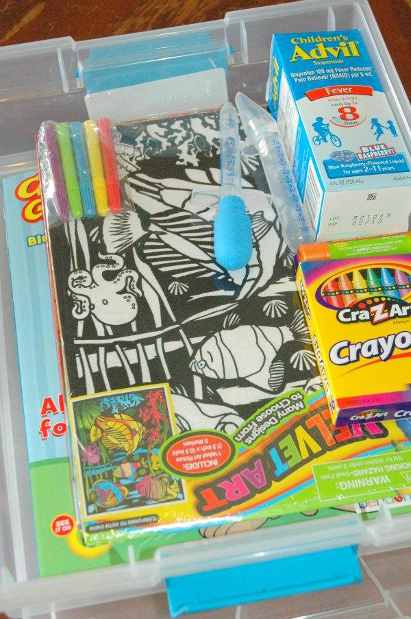 children's sick day kit 3 #fightfever