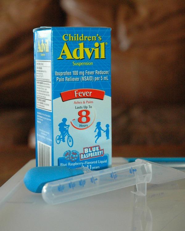 children's sick day kit 6 #fightfever