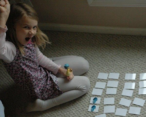 exploring feelings matching game #insideoutemotions 9