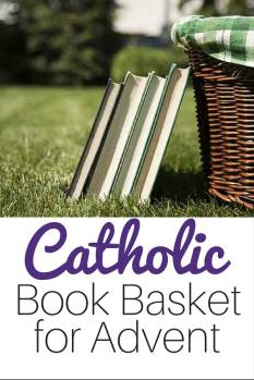Great lists of Catholic saints books for Advent and Christmas