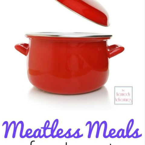 Meatless meal ideas for Lent -- soups, casseroles, sandwiches, pasta, seafood and more!