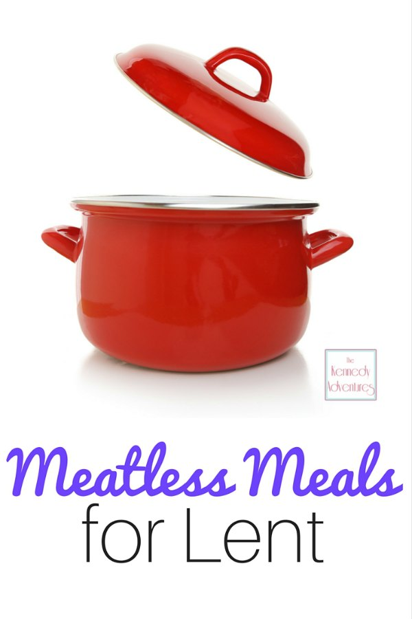 Meatless meal ideas for Lent -- recipes for soups, casseroles, sandwiches, pasta, seafood and more!
