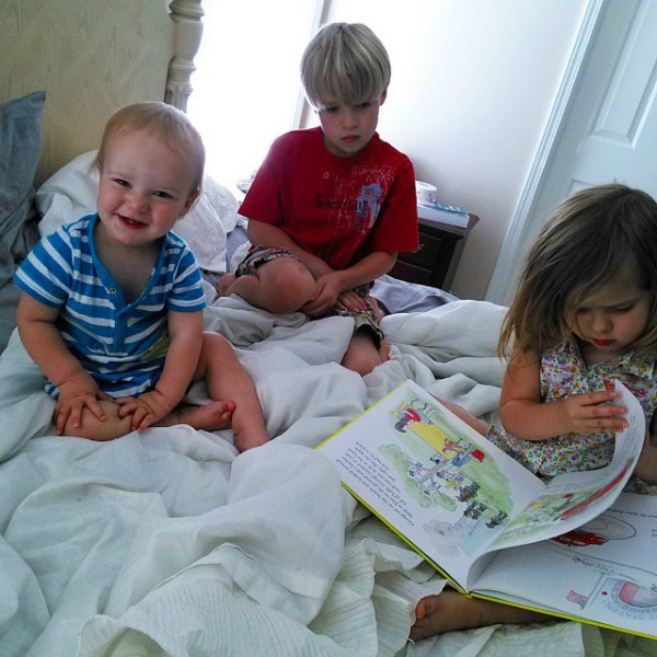 classical preschool at home - reading great books
