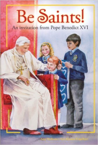 pope benedict book of Catholic saints
