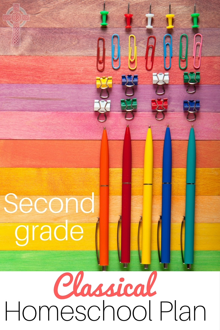 Second Grade with Memoria Press - a classical homeschool curriculum, with special attention for struggling learners' needs.