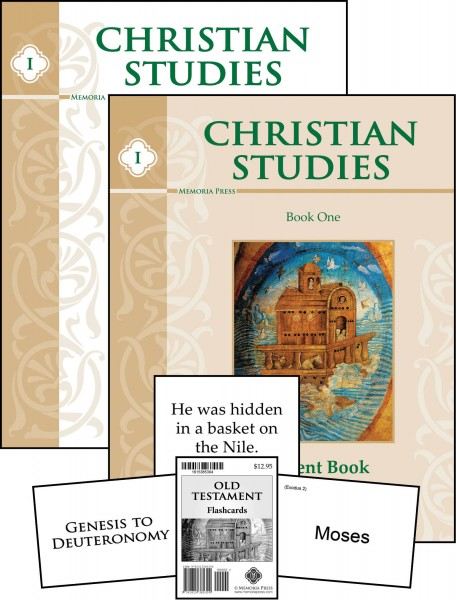 Christian Studies for a classical homeschool curriculum from Memoria Press