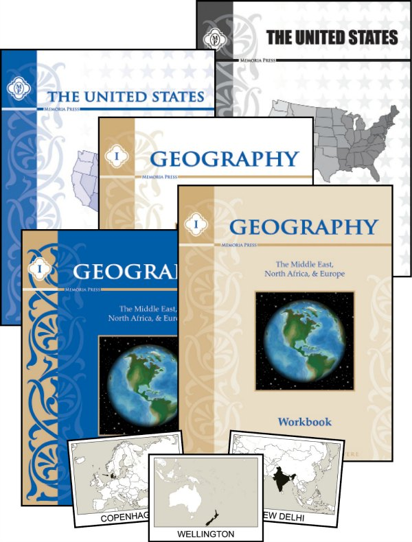 Geography for a classical homeschool from Memoria Press
