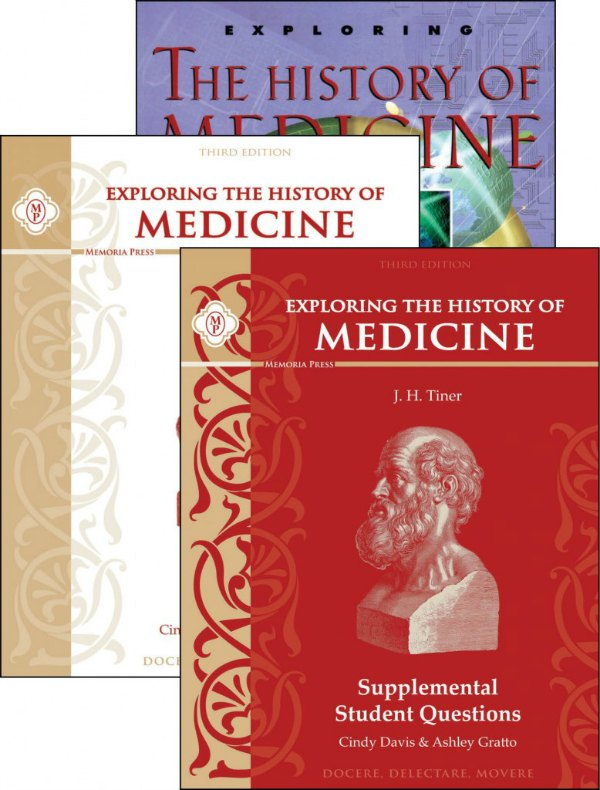 History of Medicine science study from Memoria Press
