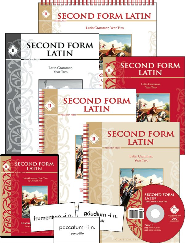 Second Form Latin from Memoria Press