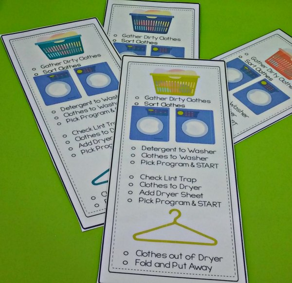 laundry printable all free clear