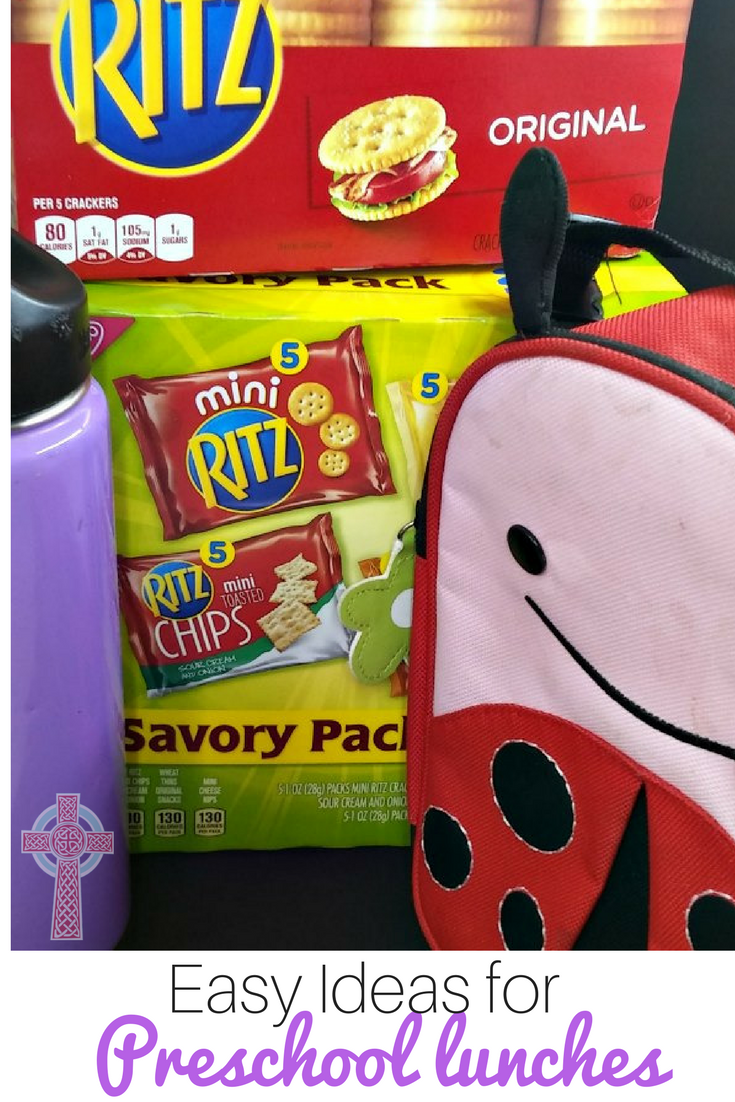 Easy Ideas for Packing Preschool Lunch #PackSNacksTheyLove