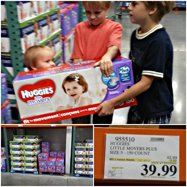 where to find Huggies Little Movers PLUS+ #SuperAbsorbent