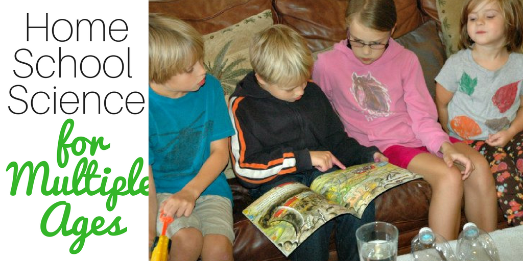 Homeschool science for multiple ages - the perfect solution!