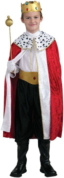 Super Easy King costume for All Saints Day - find this and more ideas!