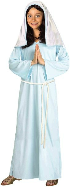 Mary Costume for All Saints Day