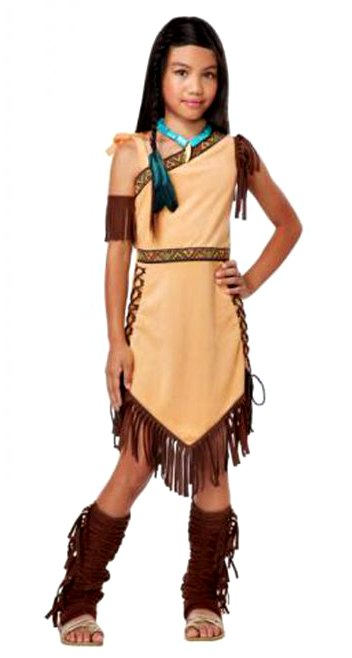 Easy St Kateri costume for All Saints Day