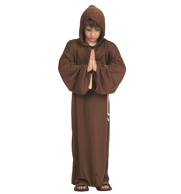 Monk costume for All Saints Day