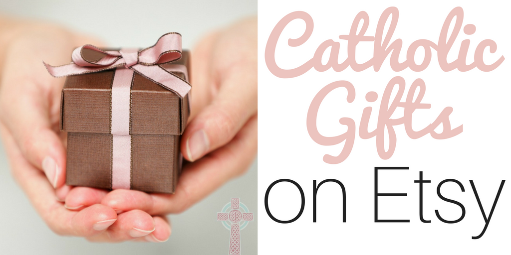 Looking for the best Catholic gifts on Etsy? We collected Catholic gifts for the WHOLE family - moms, dads, kids, teens, and grandparents, all available on Etsy.