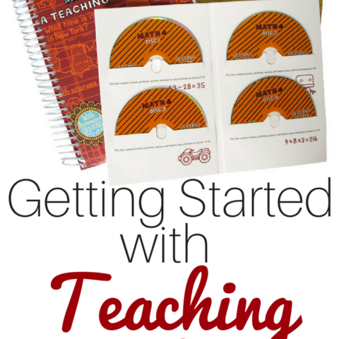 Looking for something to fix your homeschool math woes? We recently made the switch to Teaching Textbooks Homeschool Math curriculum and our family loves it!