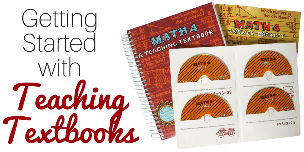 Don't miss these insider tips for getting started with the Teaching Textbooks Homeschool Math Curriculum.