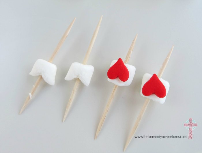 Add a fun twist to Rice Krispie treats with Valentine's Day Treat arrows!