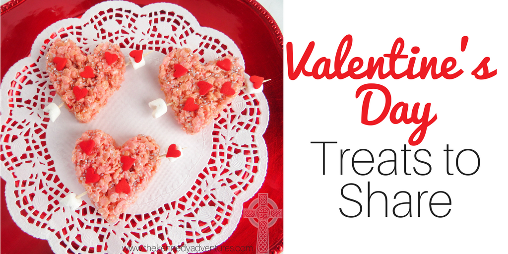 Looking for easy Valentine's Day treats for your kids? We love these delicious treats --- and so simple!