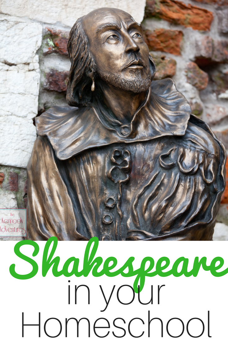 Easy Peasy Ideas for Teaching Shakespeare in Your Homeschool