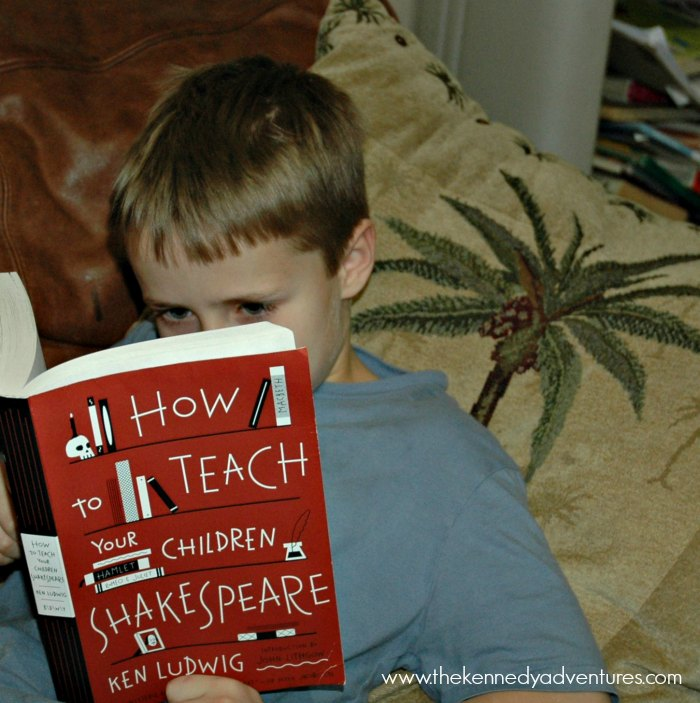 Win your own copy of How to Teach Your Children Shakespeare!