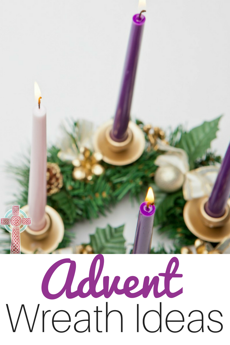 Take a look at these Advent wreath ideas to use with your family this season.