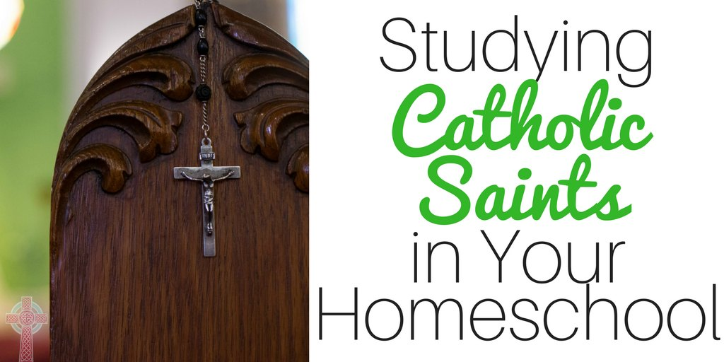 Need ideas for studying Catholic saints in your homeschool or religious education classroom? Don't miss these ideas --- from books and movies, to recipes, crafts, activities and more.