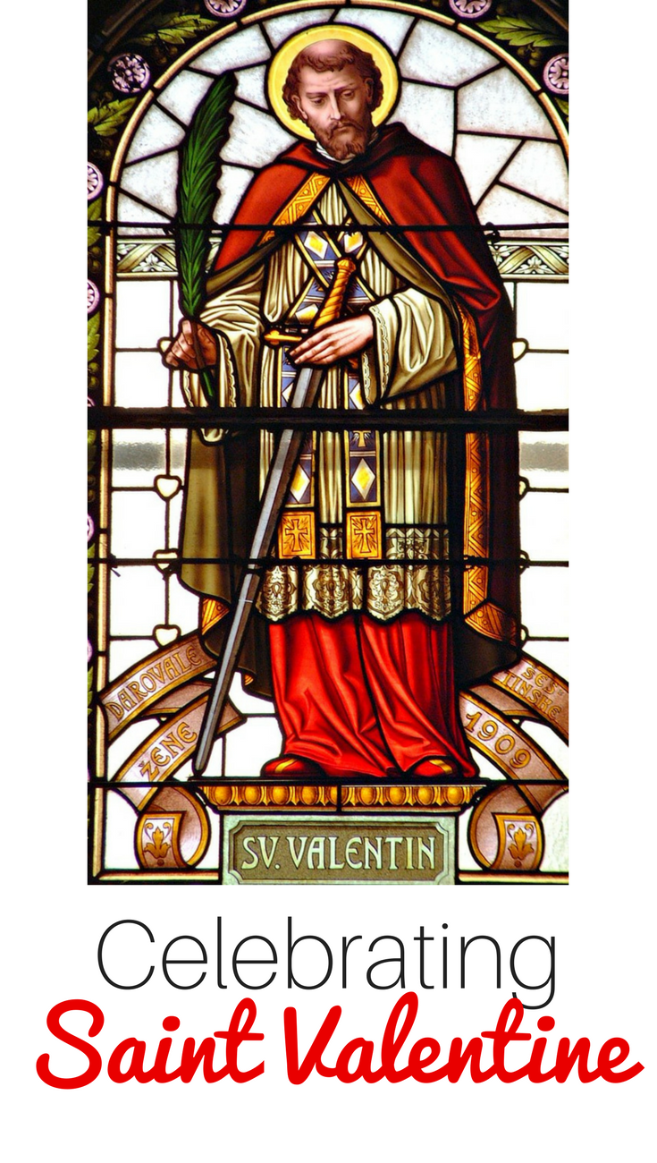 Looking for ways to celebrate Saint Valentine in your home? These ideas (books, crafts, recipes, activities and more) are perfect for Catholic families, co-ops, or religious education classes.