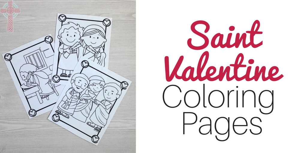 picture about Printable Valentines Craft titled Uncomplicated Practices towards Rejoice Saint Valentine -- Catholic Saints