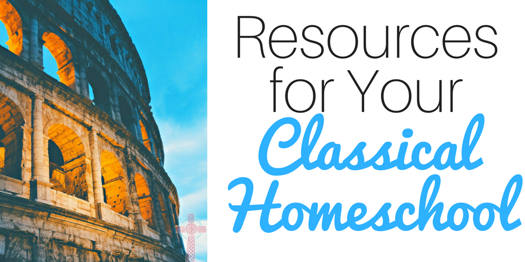 Considering homeschooling? Don't miss these classical homeschool resources -- perfect for big families.