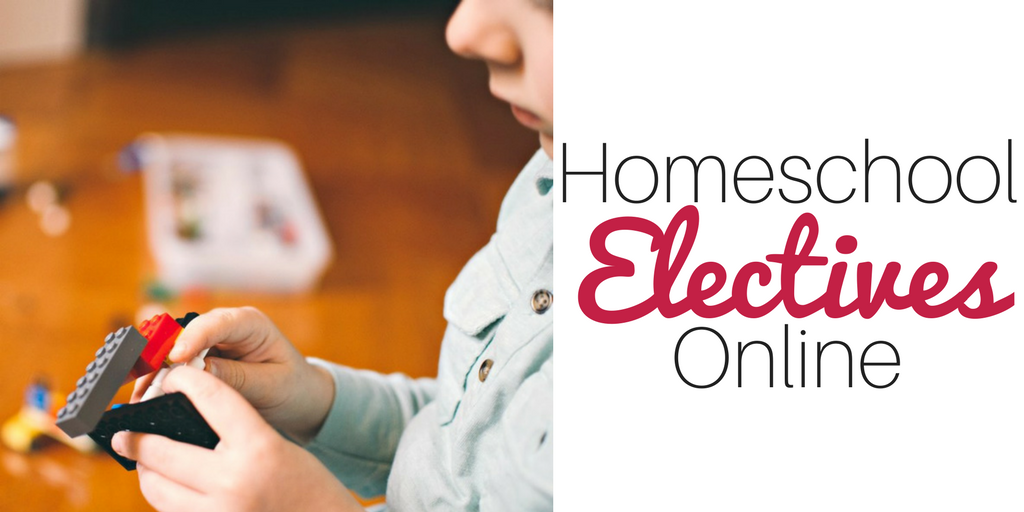 Need electives for your homeschool curriculum? These options from Homeschool Buyers co-op are affordable and ONLINE for added convenience.