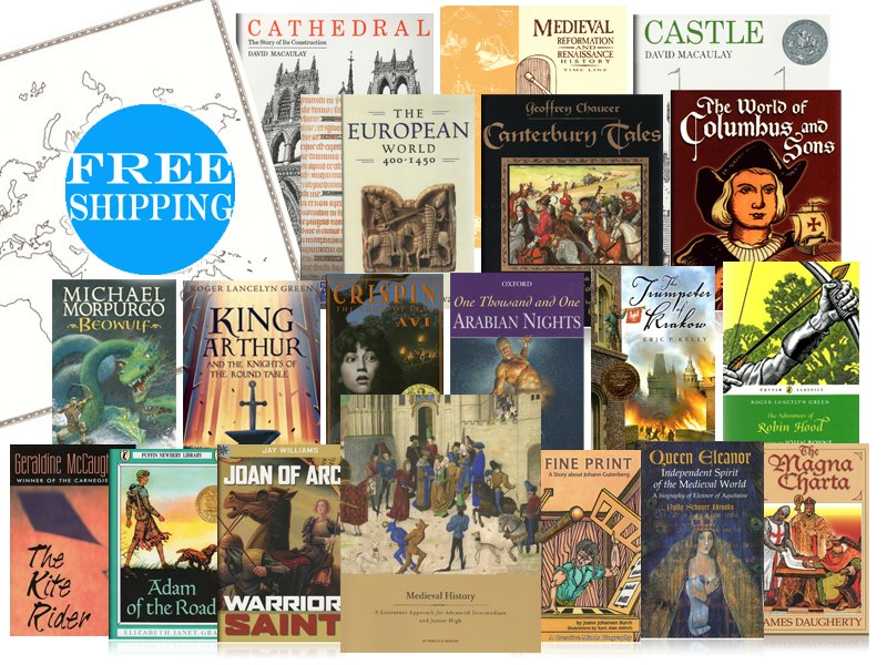 Studying Medieval History in Your Homeschool with Literature
